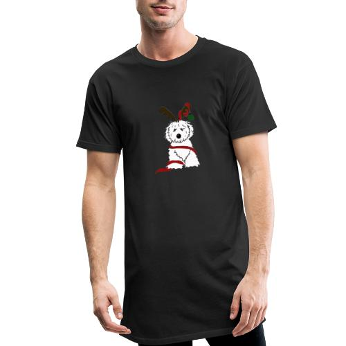 Tiny Christmas Pup - Herre Urban Longshirt