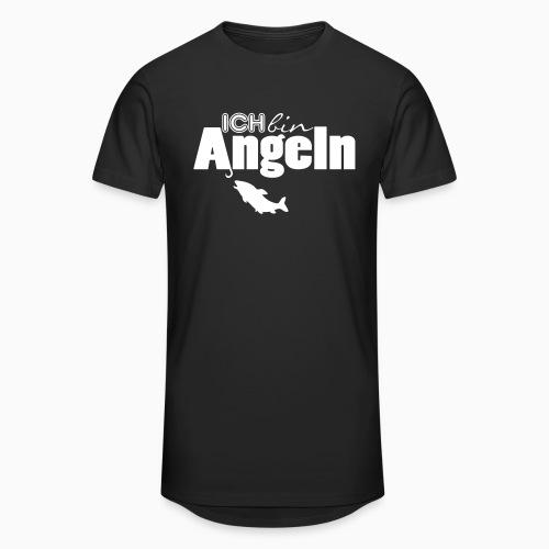 Ich bin Angeln - Männer Urban Longshirt