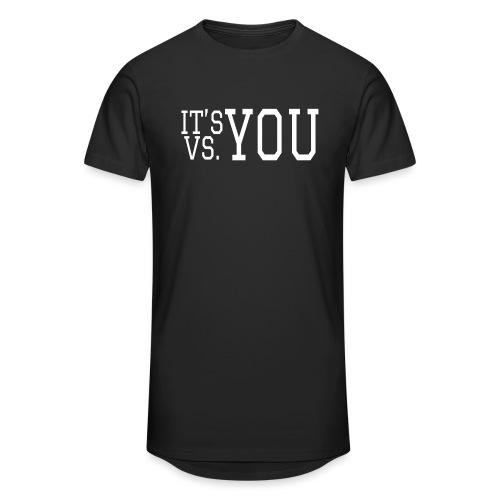You vs You - Men's Long Body Urban Tee