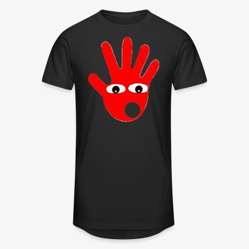 Hände mit Augen - T-shirt long Homme