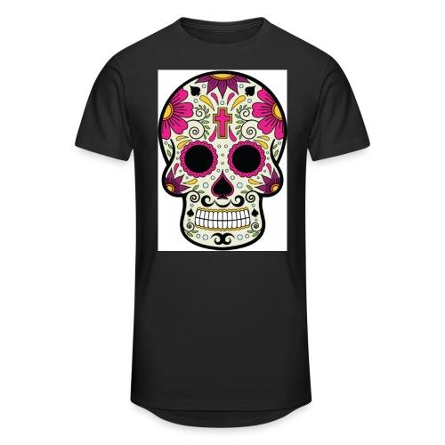 tête messico - T-shirt long Homme