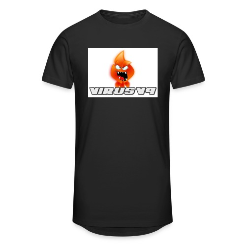 Virusv9 Weiss - Männer Urban Longshirt