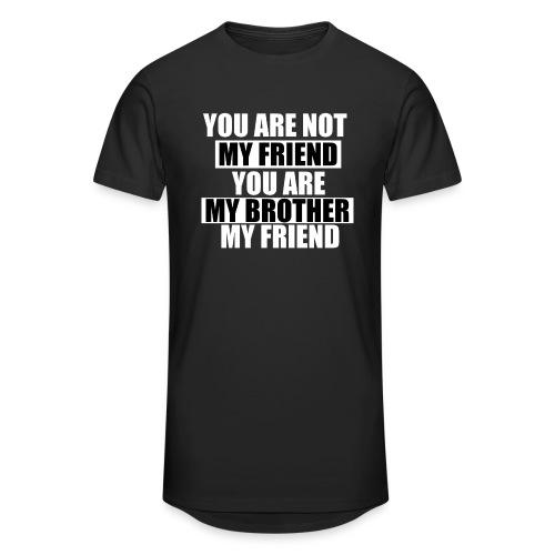 my friend - T-shirt long Homme