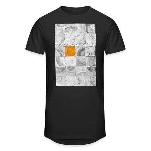 Cubes de Bois - T-shirt long Homme
