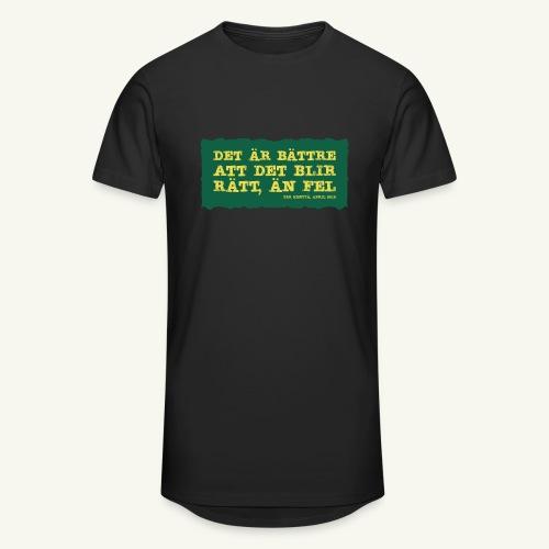 Kenttä citat - Urban lång T-shirt herr