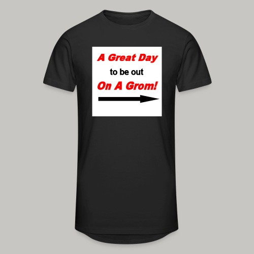 A Great Day For A Ride On A Grom - Men's Long Body Urban Tee