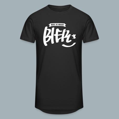 Bier Premium T-shirt - Mannen Urban longshirt