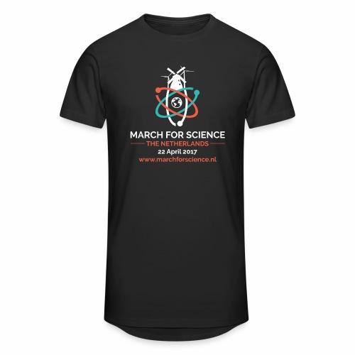 MfS-NL logo dark background - Men's Long Body Urban Tee