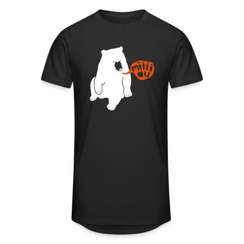 Bär sagt Miau - Männer Urban Longshirt