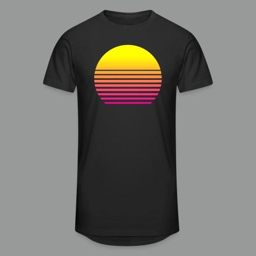 80s Sun - Männer Urban Longshirt