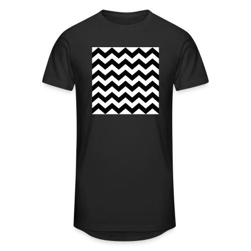 zigzag png - T-shirt long Homme