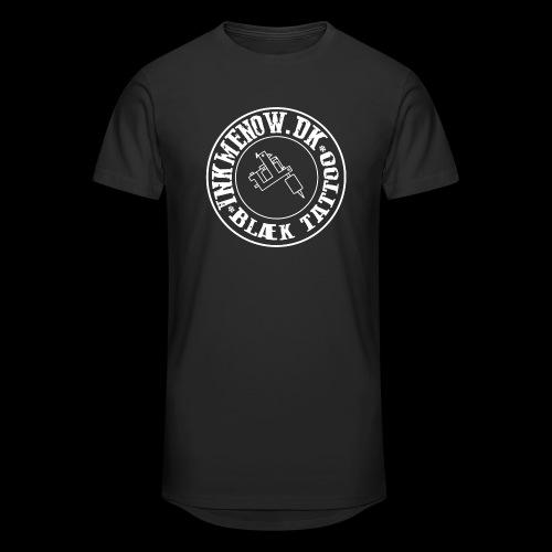 logo hvid png - Herre Urban Longshirt
