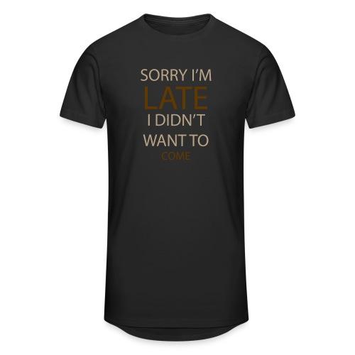 Sorry im late - Herre Urban Longshirt