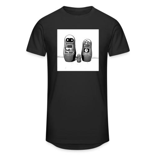 0342 Shirt ROBOT Bot IIII - Männer Urban Longshirt