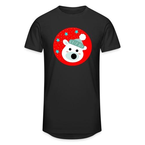 Winter bear - Men's Long Body Urban Tee