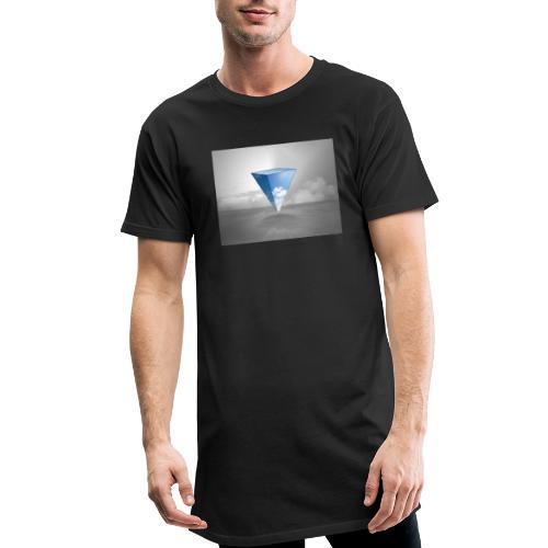 Geometrie Grey - Männer Urban Longshirt