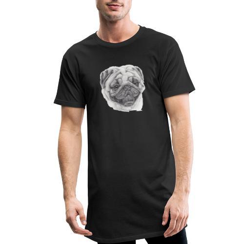 Pug mops 2 - Herre Urban Longshirt