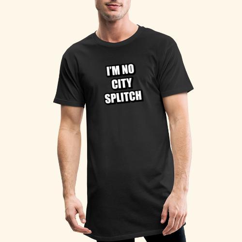 IM NO CITY SPLITCH - Men's Long Body Urban Tee