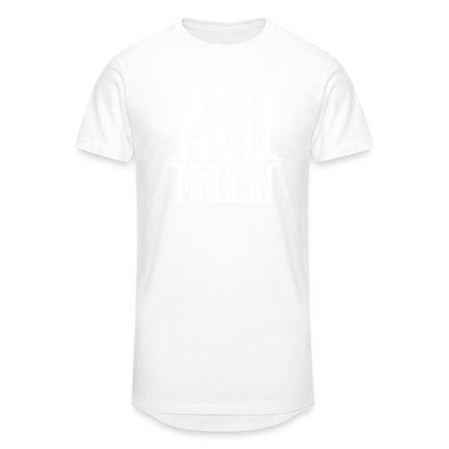 logo_alumadein_vecto_blan - T-shirt long Homme