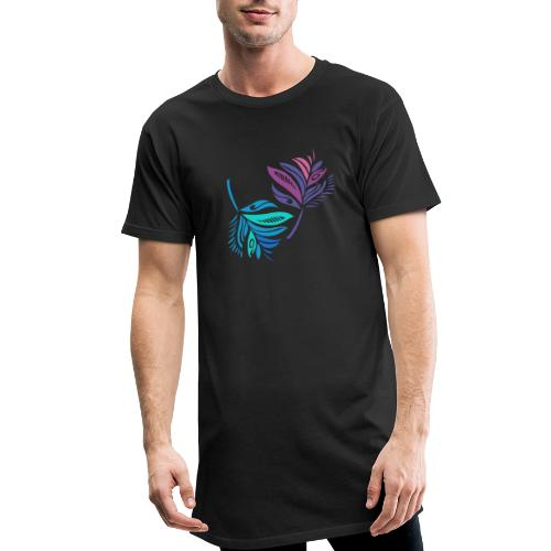 foglie geometriche - Maglietta  Urban da uomo