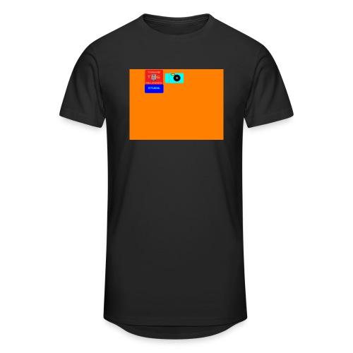 logo - Mannen Urban longshirt