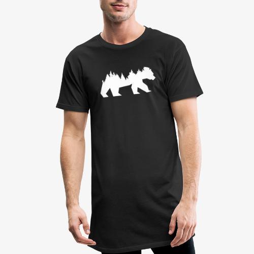 Bear Wald - Männer Urban Longshirt