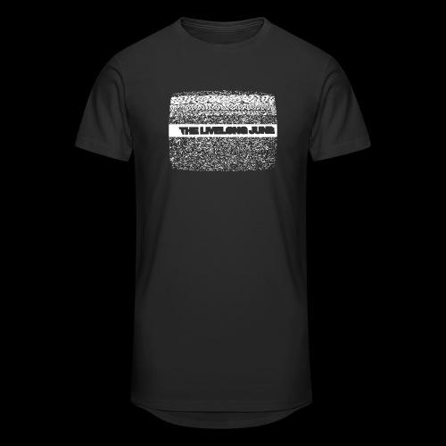 The Livelong June - Logo on white noise - Urban lång T-shirt herr