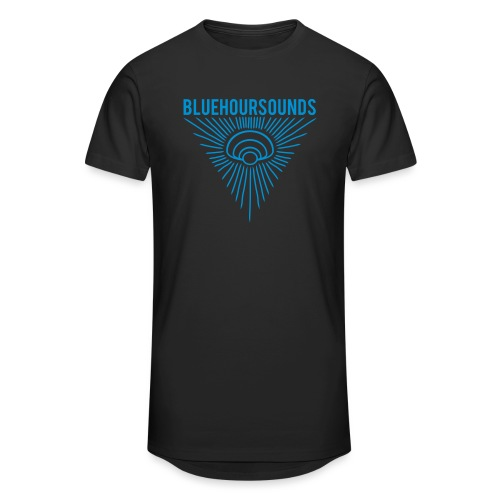 New Blue Hour Sounds logo triangle - Men's Long Body Urban Tee