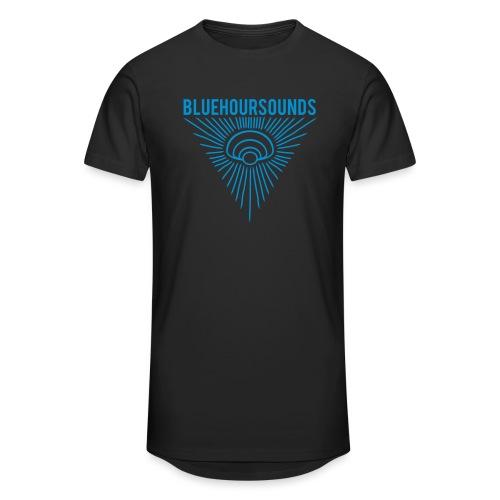 New Blue Hour Sounds logo triangle - Men's Long Body Urban Tee