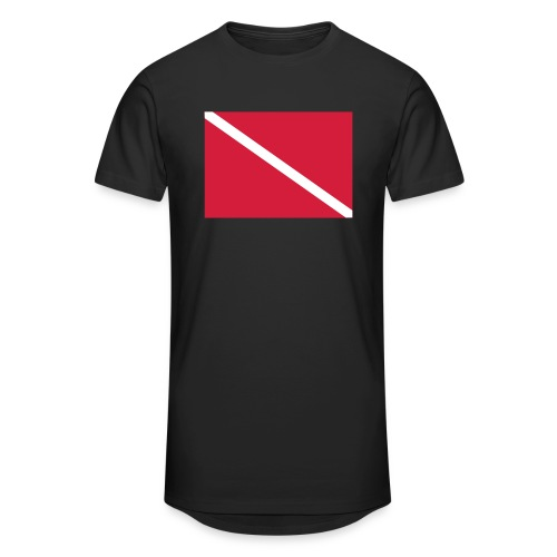 Diver Flag - Men's Long Body Urban Tee