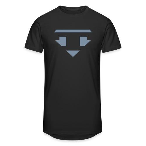 Twanneman logo Reverse - Mannen Urban longshirt