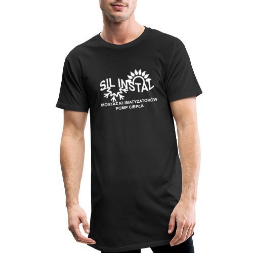 sil instal - Długa koszulka męska urban style