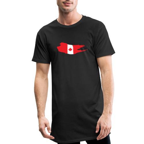 Canada Flag - Camiseta urbana para hombre