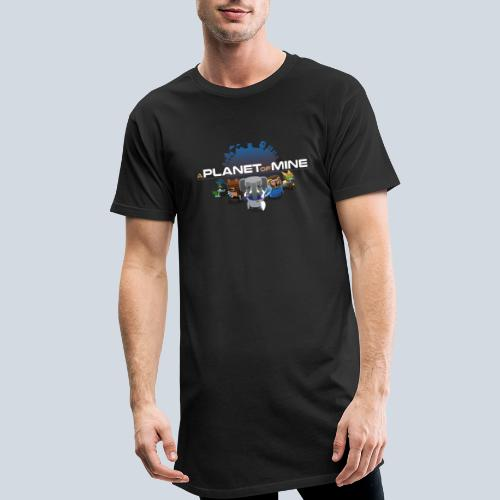 logo planetofmine dark HD - T-shirt long Homme