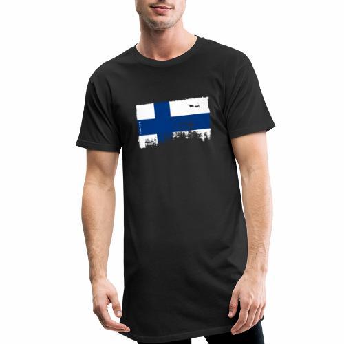 Suomen lippu, Finnish flag T-shirts 151 Products - Miesten urbaani pitkäpaita
