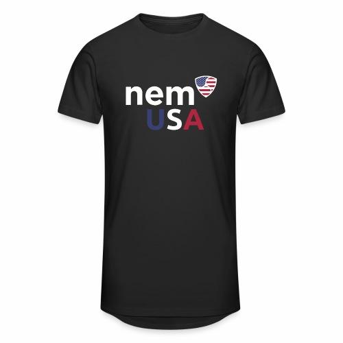 NEM USA white - Maglietta  Urban da uomo