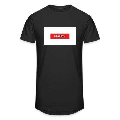 box logo - Urban lang T-skjorte for menn