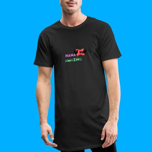 Hana Is Not Amazing T-Shirts - Men's Long Body Urban Tee