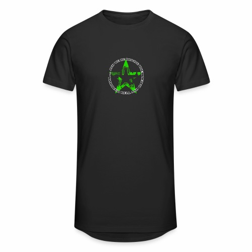 ra star slogan slime png - Männer Urban Longshirt