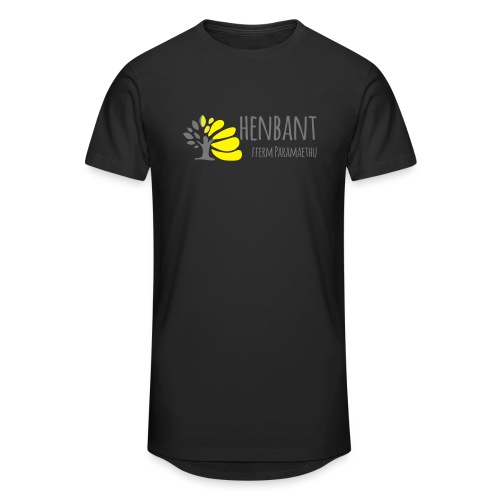 henbant logo - Men's Long Body Urban Tee