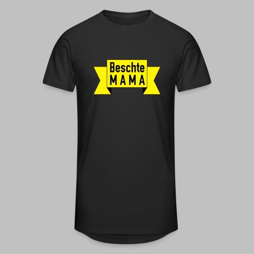 Beschte Mama - Auf Spruchband - Männer Urban Longshirt