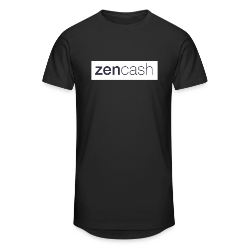 ZenCash CMYK_Horiz - Full - Men's Long Body Urban Tee