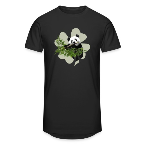 My lucky Panda - T-shirt long Homme