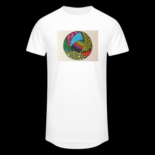 circle corlor - Herre Urban Longshirt