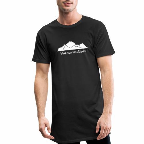 Vue sur les Alpes - T-shirt long Homme