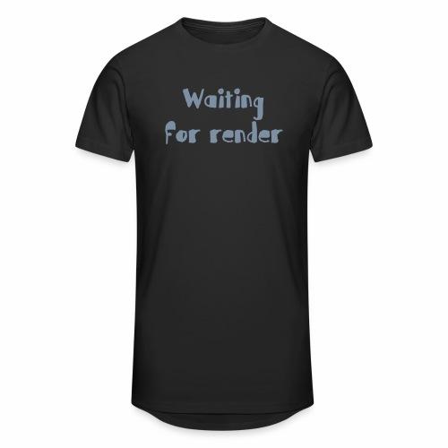 RENDER - Camiseta urbana para hombre