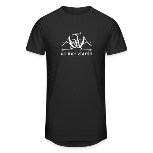 atma wares logo white - Mannen Urban longshirt