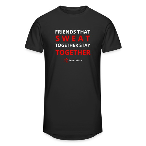 Friends that SWEAT together stay TOGETHER - Männer Urban Longshirt