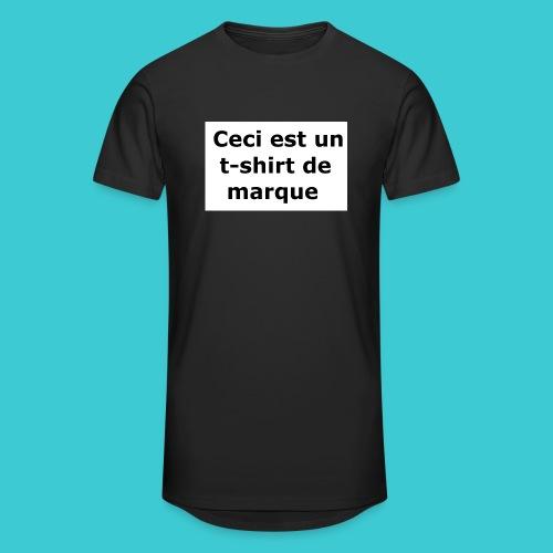 t-shirt2 - T-shirt long Homme