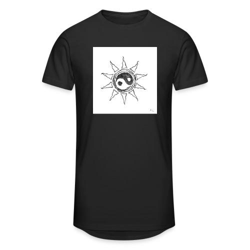 sole yin yang - Maglietta  Urban da uomo